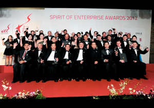 Spirit of Enterprise - Awardees