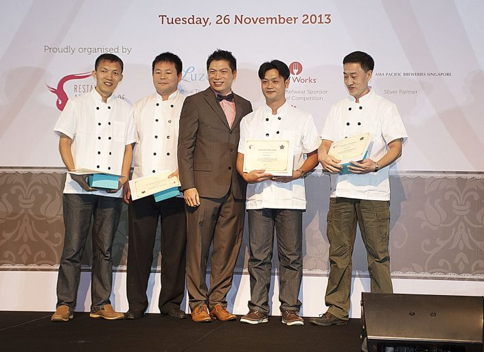 Dian Xiao Er 3 Star Chef Competition Picture (2)