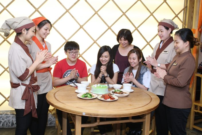 Dian Xiao Er Birthday Celebration with Customers