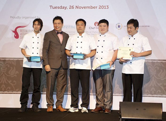 Dian Xiao Er 3 Star Chef Competition Picture