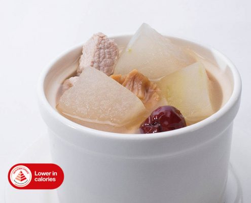 Dian Xiao Er Double-Boiled Wintermelon w Conpoy Soup