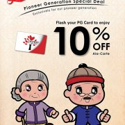Pioneer Generation Special Deal 10% Off